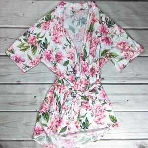 Show Me Your Mumu | Bridal Floral Robe